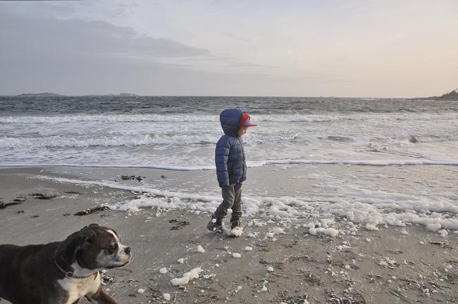 strandpromenad på Krugers