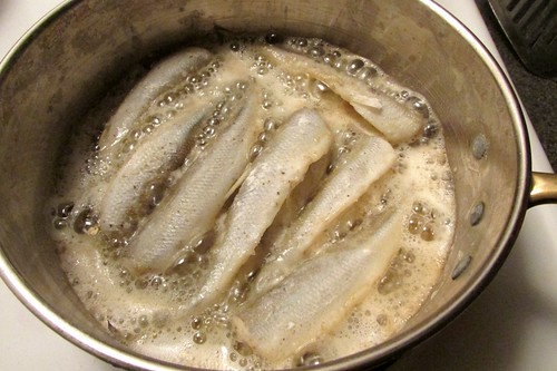 Smelts Cooked Two Ways