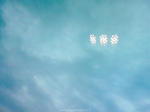 UFO's in the sky