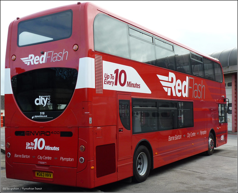 Plymouth Citybus 518