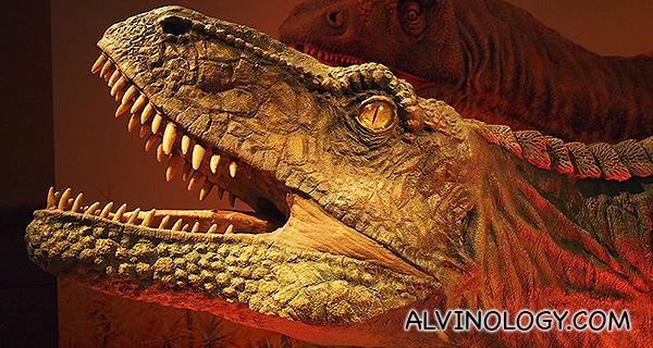 Dinosaurs: Dawn to Extinction exhibition @ ArtScience Museum, Marina Bay Sands - Alvinology