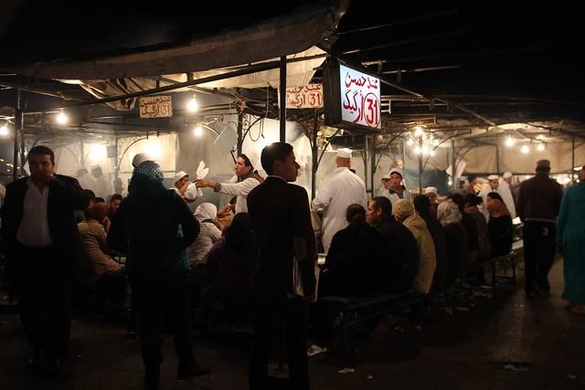 161 - Plaza Jemaa El Fnaa
