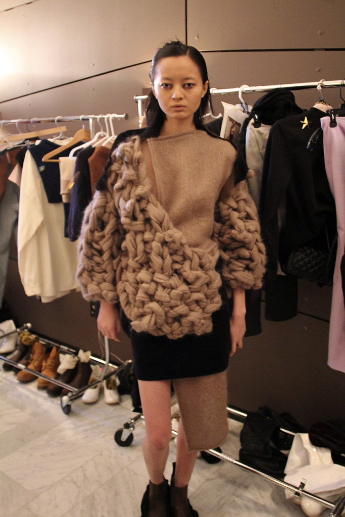 Eckhaus Latta Autumn Fall Winter 2014 Backstage New York Fashion Week NYFW