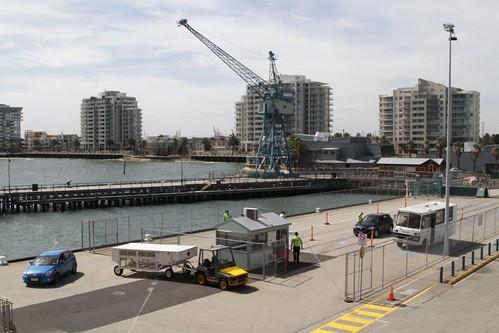Security checks for vehicles boarding the Spirit of Tasmania