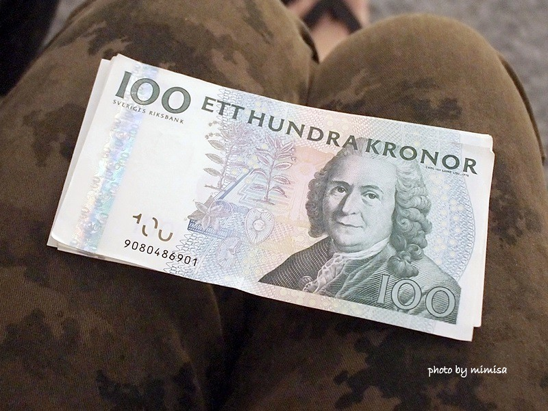 北歐 花費 換錢 退稅 (3)