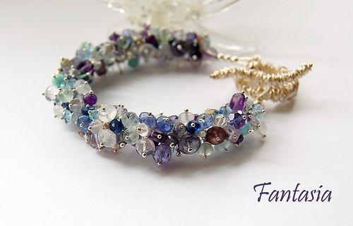 Fantasia Bracelet by gemwaithnia