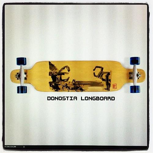 #donostia #longboard wip