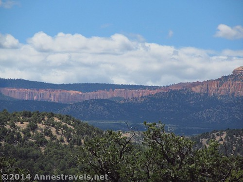 Bryce Canyon from the end of the road at Camp Cannonville, Grand Staircase-Escalante National Monument, Utah