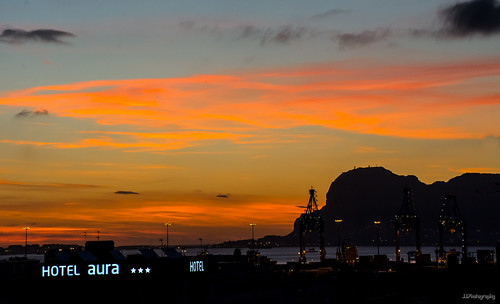 sunrise puerto nikon amanecer gibraltar algeciras d7100