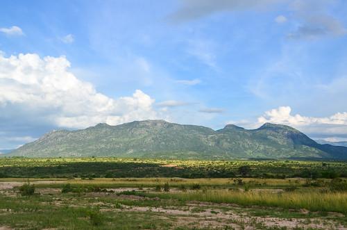 Ganda mountains