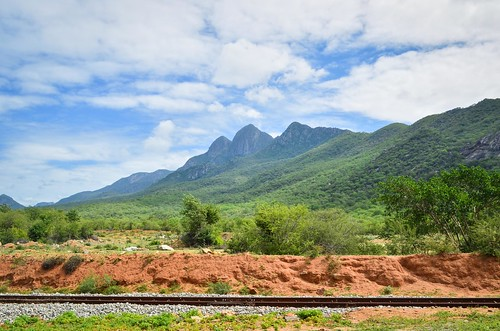 Mountains along the Moçamedes railway