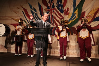 USC President C. L. Max Nikias was honored by the Woodrow Wilson International Center for Scholars
