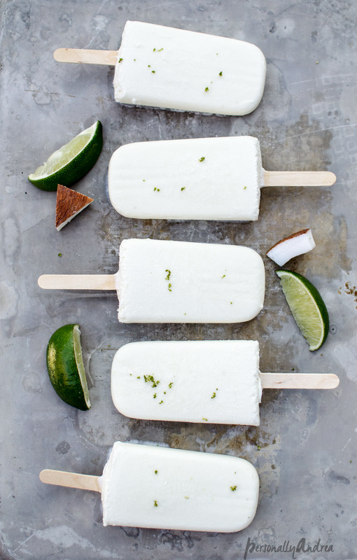 Tropical Smoothie Creamsicles