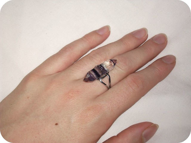 Born Pretty Adjustable Crystal Ring