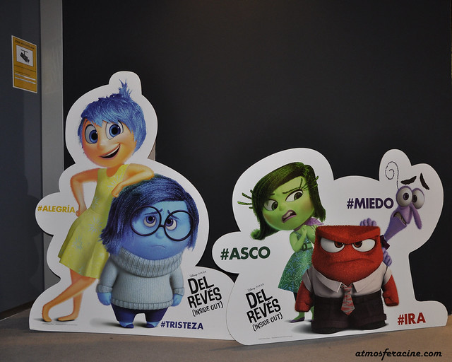Inside out - Del reves - Pixar - Characters - Aragonia - Atmosferacine - Animation