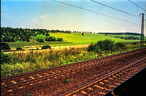 Hopfgarten, zwischen Erfurt und Weimar 1987