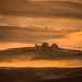 Misty morning at Montalcino. by AlbOst