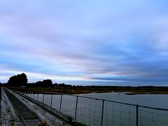 Chilly walk tonight #Invercargill #estuarywalk #sunset