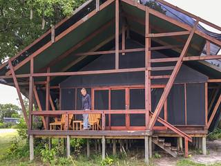 Unterkunft im Lebala Camp