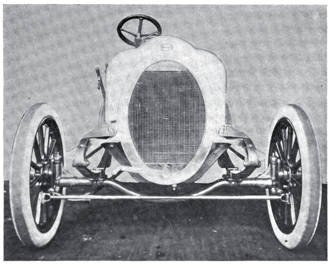 1906 Ariel chassis front