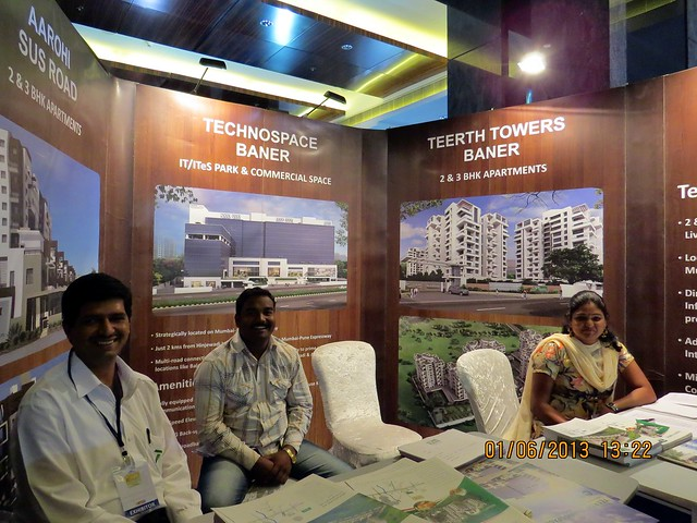 www.teerthrealties.com  - Visit Times Property Showcase 2013, 1st &2nd June 2013, JW Marriott, S B Road, Pune