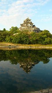 『 逆さ金烏城(きんうじょう)』