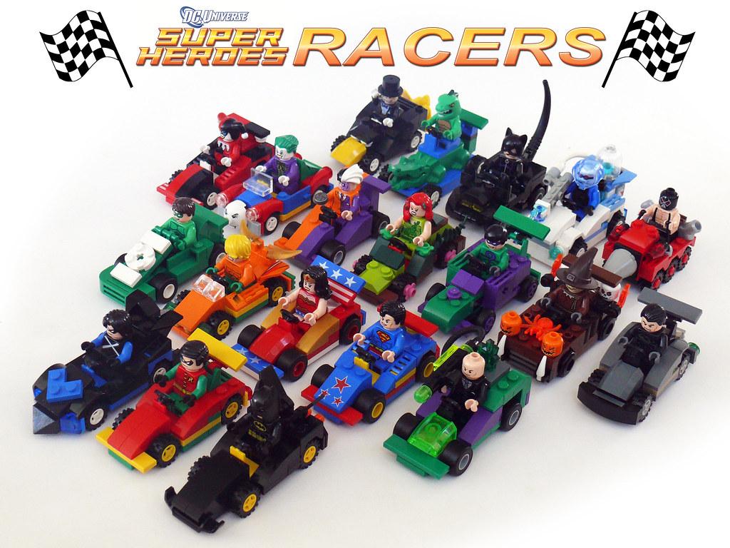 Lego dc super heroes racers brick heroes - Logo super heros ...