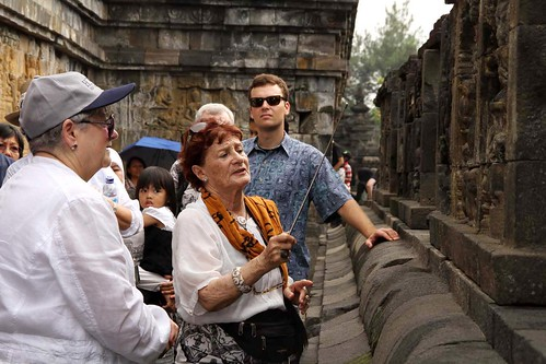 tour at Borobudur