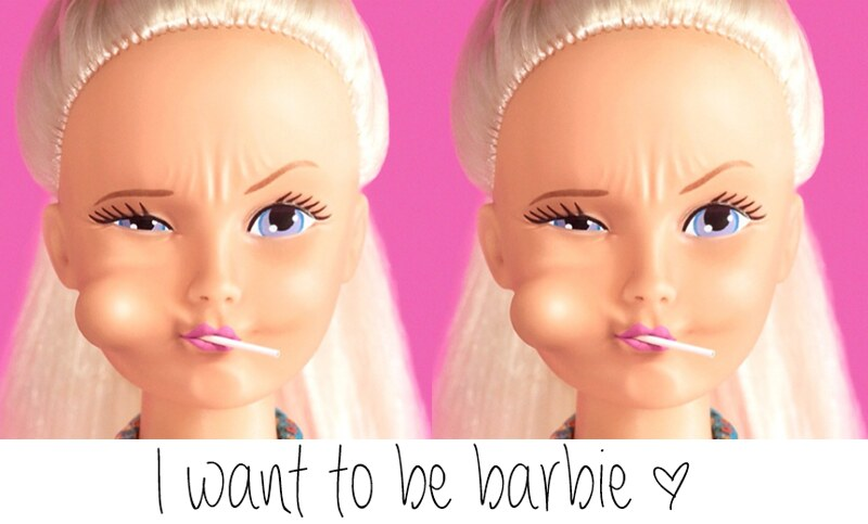 I want to be Barbie