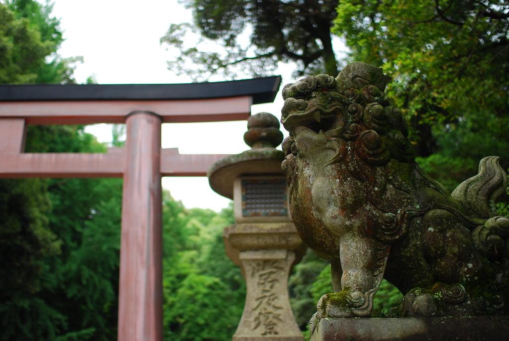 春日大社の狛犬