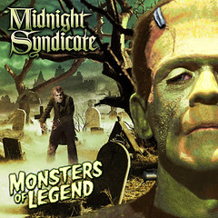 Monsters of Legend cover for the Midnight Syndicate album