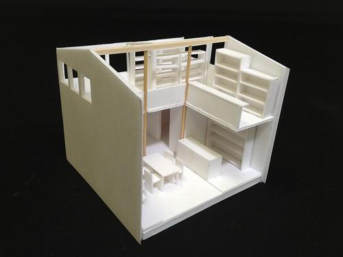 すまいの空間構想_屋根なし