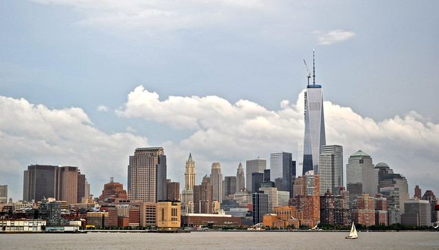 Freedom Tower in Ground Zero - Downtown NYC