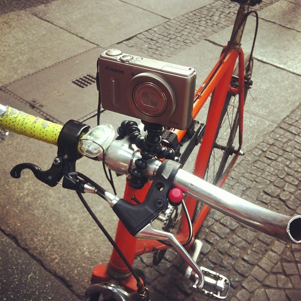 Steadycam bicycle rig