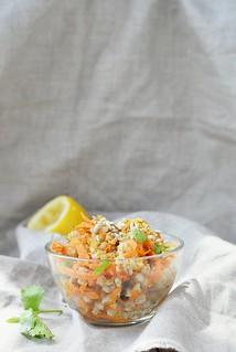 carrotand barley salad with dates and raisins.1