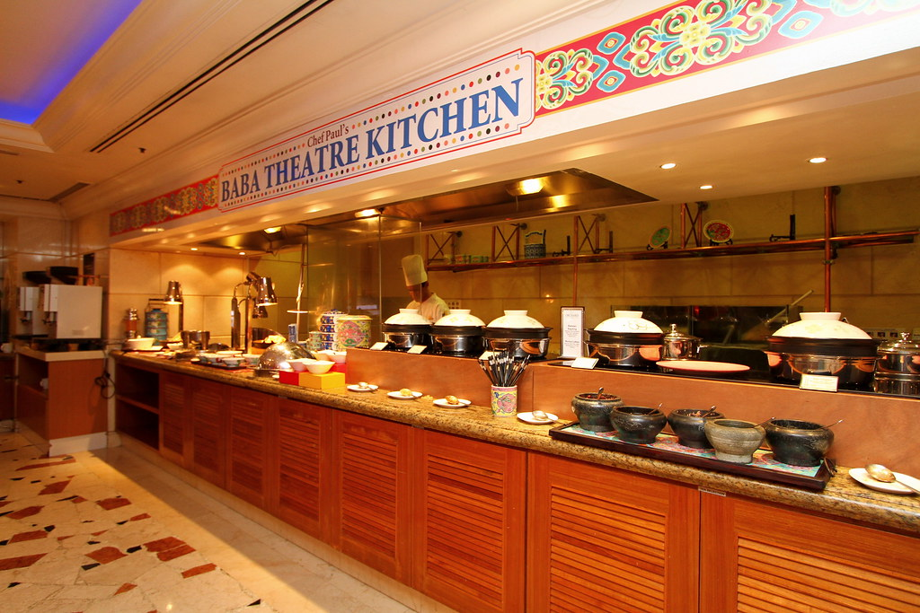 Chef Paul's Baba Theatre Kitchen