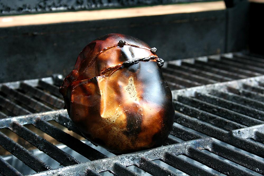 burnt globe eggplant