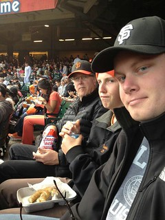 The Welch Men at the Giants
