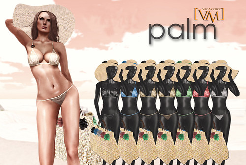 [VM] VERO MODERO Palm Swim Bikinies All Pattern