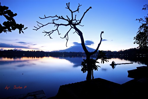 blue reflection nature philippines bluesky bluehour laguna magichour mtbanahaw sanpablocity cityofsevenlakes calabarzonregion