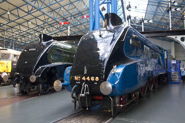 LNER A4 Steam Engine