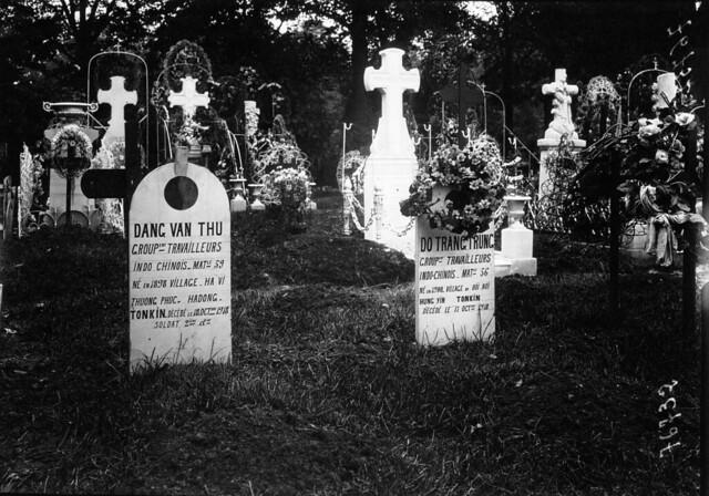 1919 Mộ binh sĩ Đông Dương tại Nghĩa trang Bagneux (Paris)