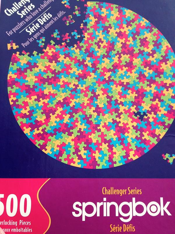 Springbok Challenger Series: 500pc Round Puzzle Puzzle