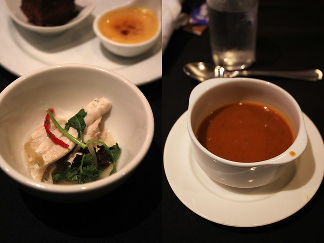 Spices Cafe - Steamed Fish and Lobster Bisque
