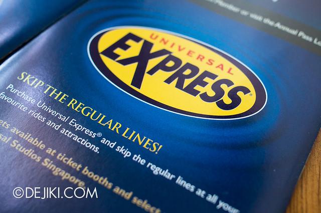 Universal Studios Singapore - Universal Express