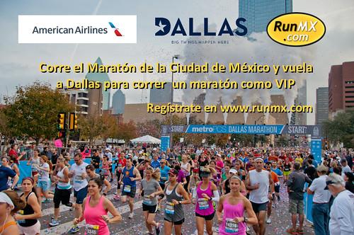 Vuela a Dallas y corre un Maratón como VIP