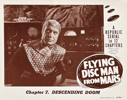 Flying Disc Man from Mars (Republic, 1950). Lobby Card (11