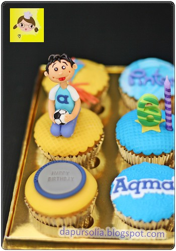 Cupcake Set for Aqmal