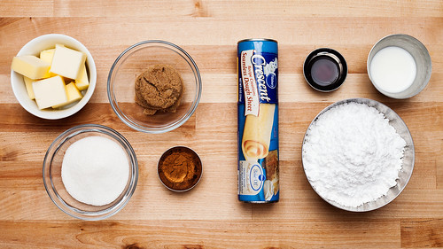 Pillsbury Crescent Roll Cinnamon Rolls - Ingredients