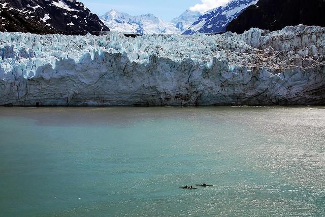 Glaciar Margerie. Parque nacional de la Bahía de los Glaciares. Alaska.
